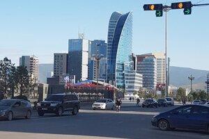 Hlavné mesto Ulánbátar.