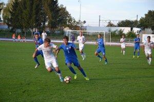 Slováci (v modrom) sa proti Čechom nepresadili.