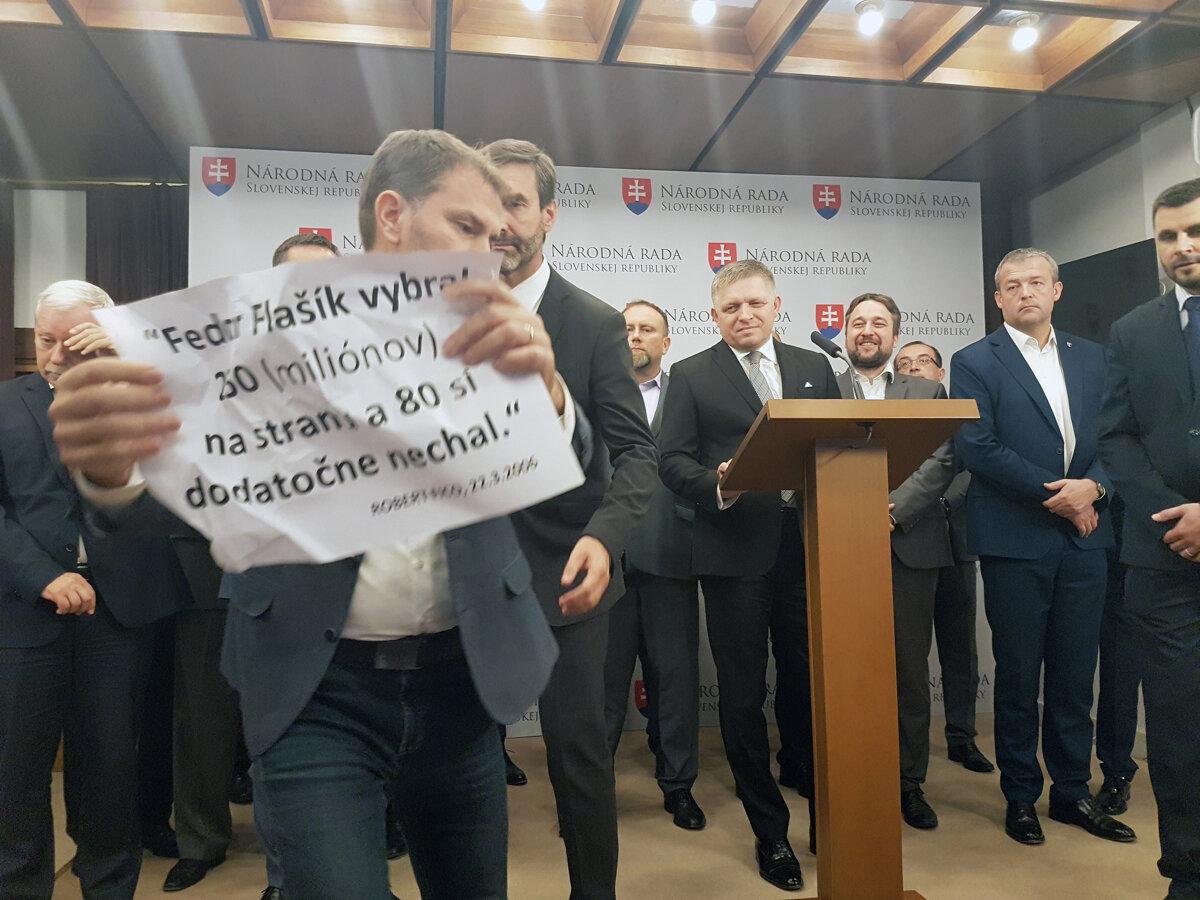 Kauza Gorila: Matovič Smer Fico (fotogaléria) - SME