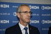 Poslanec Európskeho parlamentu a člen predsedníctva Kresťanskodemokratického hnutia (KDH) Ivan Štefanec.