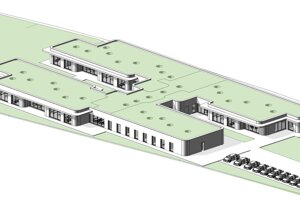 Architektonický návrh, autori Zuzana Čerešňová, Michal Kacej.