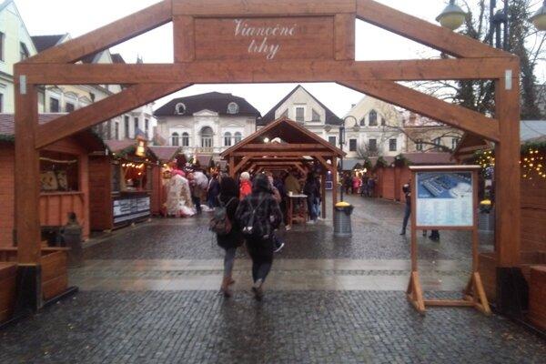 Vianočné trhy Žilina.