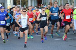 Štart ôsmeho ročníka StopShop polmaratónu.