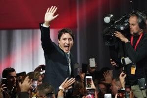 Líder liberálov Justin Trudeau.