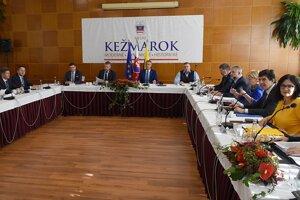 Výjazdové rokovanie vlády v Kežmarku.