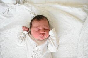 Melissa D´Acri (4070 g, 51 cm) sa narodila 16. októbra Zuzane a Alexovi z Trenčína.