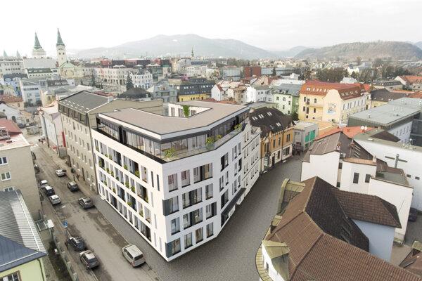 Okrem obchodných a administratívnych priestorov ponúka Piano Residence komfortné byty a štýlové apartmány.