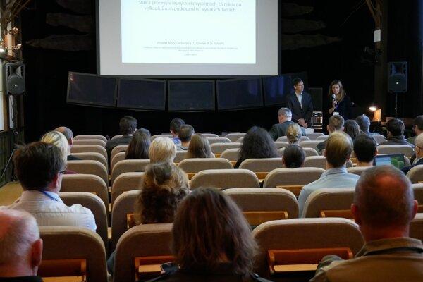 Medzinárodná vedecká konferencia sa venovala stavu v Tatrách po rozsiahlej kalamite v roku 2004.
