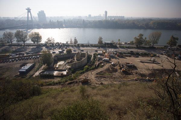 Výstavba novej lokality Vydrica.