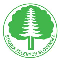 Strana zelených Slovenska (logo strany)