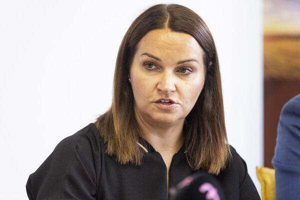 Adriana Šklíbová.