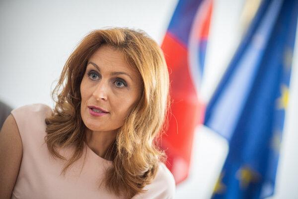 Bývalá ministerka zdravotníctva Andrea Kalavská.