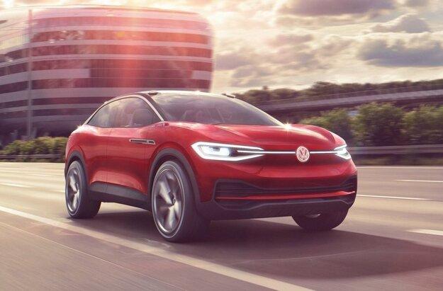 Koncept Volkswagen I.D.Crozz z roku 2017.