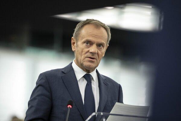 Bývalý poľský premiér Donald Tusk.