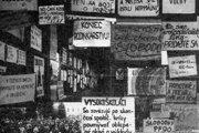 1989. Revolučné plagáty v Prešove.