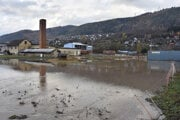 Záplavy v Hranovnici.