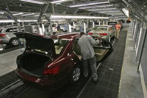 Pracovníci závodu Hyundai v americkej Alabame.