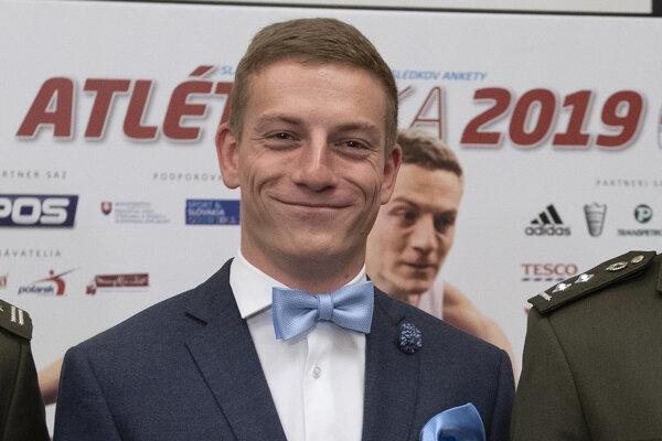 Ján Volko počas galavečera vyhlásenia ankety Atlét roka 2019.