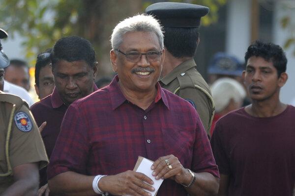 Gotabhája Rádžapaksa.