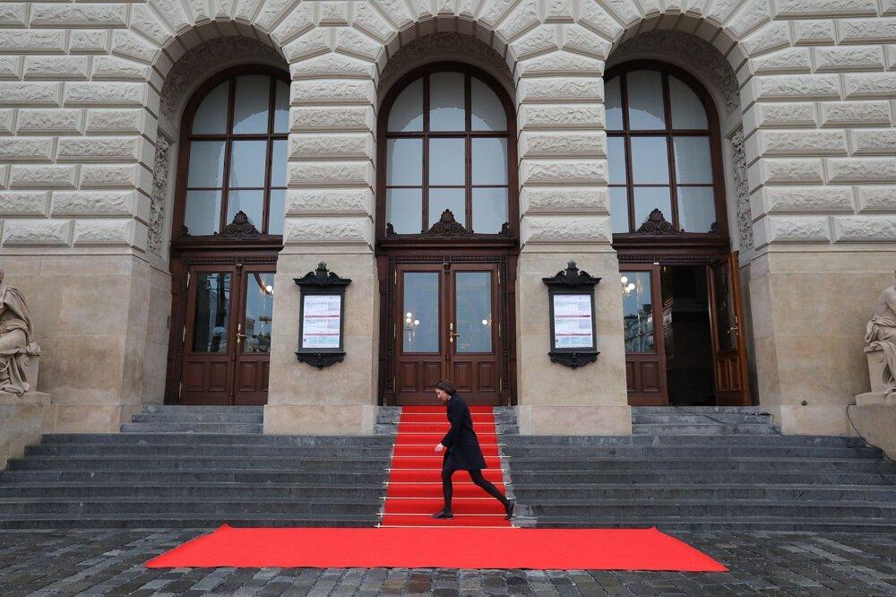 Budova Národního muzea na Václavském náměstí.