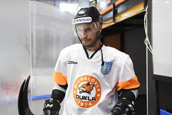 Marek Mašlonka dal v poslednej tretine dva góly Dukly.