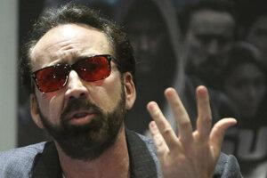 Herec Nicolas Cage.