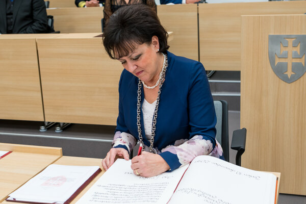 Lenka Balkovičová je primátorkou Zvolena druhé volebné obdobie.