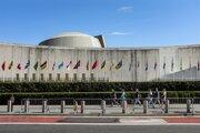 Centrála OSN v New Yorku.