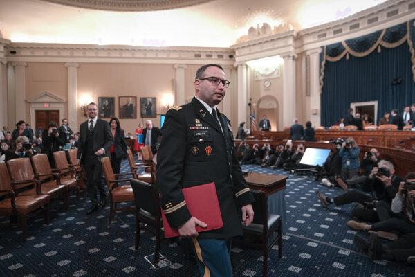 Podplukovník Alexander Vindman