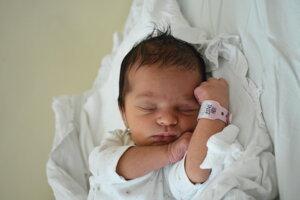 Diana Tartott (3160 g, 49 cm) sa narodila 10. novembra Alene a Tomášovi z Pruského.
