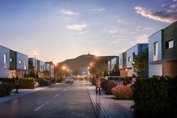 V prestížnej lokalite v dotyku s Nitrou vyrastá komunitné bývanie v objatí lesa a pritom s výbornou dostupnosťou mesta.
