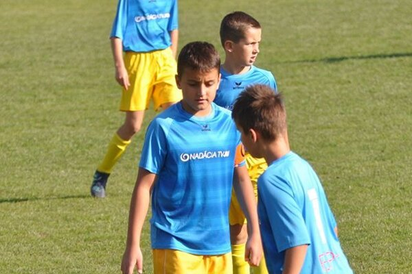 Talentovaný strelec Dominik Mede.