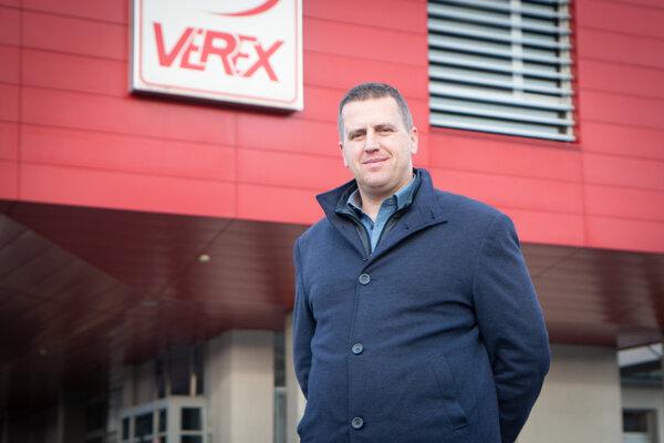Jakub Frackowiak, prevádzkovo personálny riaditeľ spoločnosti CBA Verex.