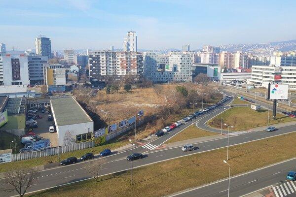 Pozemky, ktoré predala dcérska spoločnosť Tatra banky.