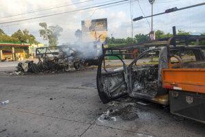 Mesto Culiacán sa v októbri zmenilo na bojisko. Polícia musela zadržaného syna vodcu kartelu El Chapa pustiť.