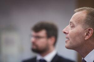 Predseda hnutia Sme rodina a jednotka na kandidátke Boris Kollár.