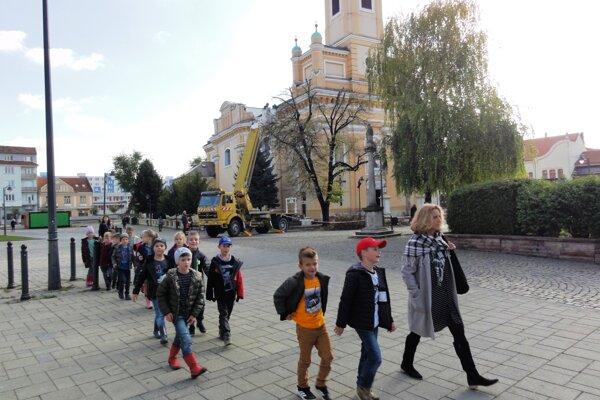 V novembri sa orezávok dočkali i stromy na Námestí M.R. Štefánika.Prevádzali ich Mestské služby a radnica ich financovala z vlastnej kasy.