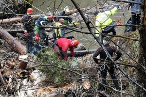 Chlapi museli byť opatrní a dbať na bezpečnosť, aby neskončili v Hornáde.
