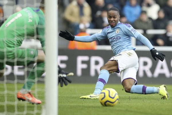 Zápas Newcastle United a Manchester City