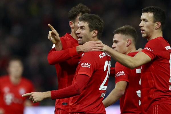 Thomas Müller z Bayernu Mníchov