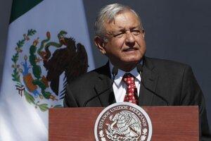 Mexický prezident Andrés Manuel López Obrador.