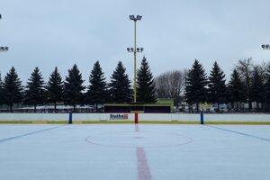 Ľadová plocha v Stropkove.
