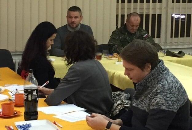 Zasadanie krízového štábu v Prešove.