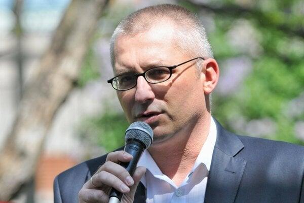 Primátor Hlohovca Miroslav Kollár