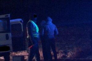 V aute bola nájdená biela kryštalická látka.