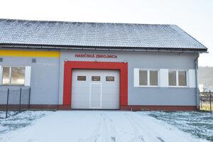 Nová hasičská zbrojnica v Bzinách.