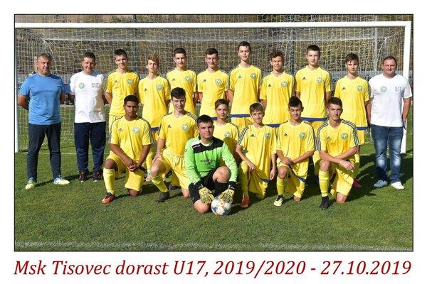 MŠK Tisovec U17.