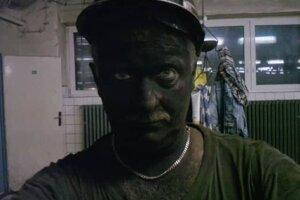 Jaroslav Kubištel po šichte vbani vroku 2005.