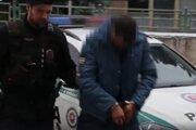 Podozrivý z ozbrojeného prepadu benzínky v Krupine v rukách polície. Reprofoto.