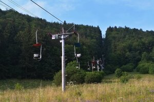 Lanovka z Dediniek na Geravy by mala tak ako v minulosti prepravovať turistov v letnom období.